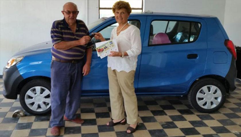 SORTEO DEL AUTO CLUB DE LEONES PALMITAS