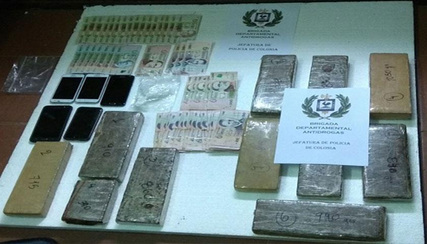En Juan Lacaze desbaratan organización dedicada al micro tráfico de drogas