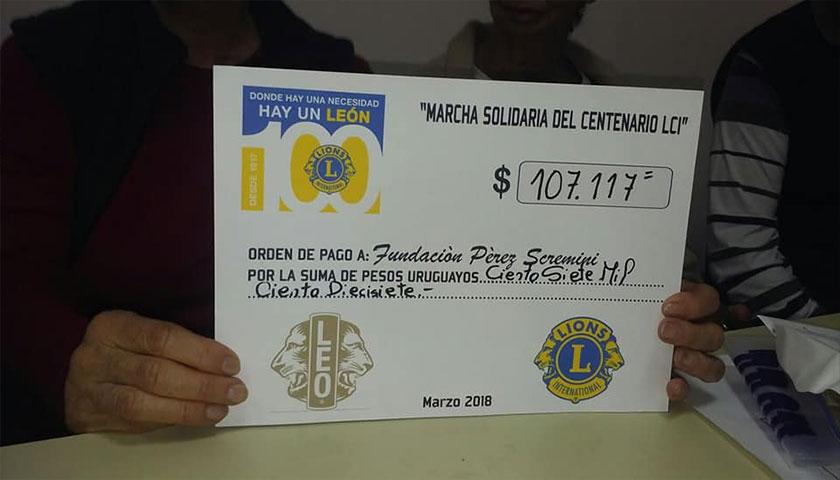 Anoche se oficializó la suma a entregar por LEONES