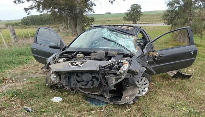 Accidente de tránsito en Ruta 54