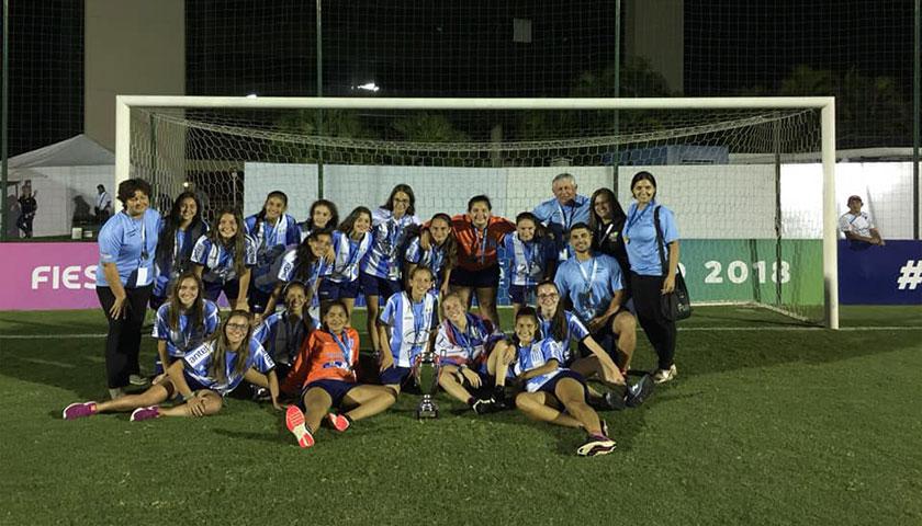 Premiación del Sudamericano femenino