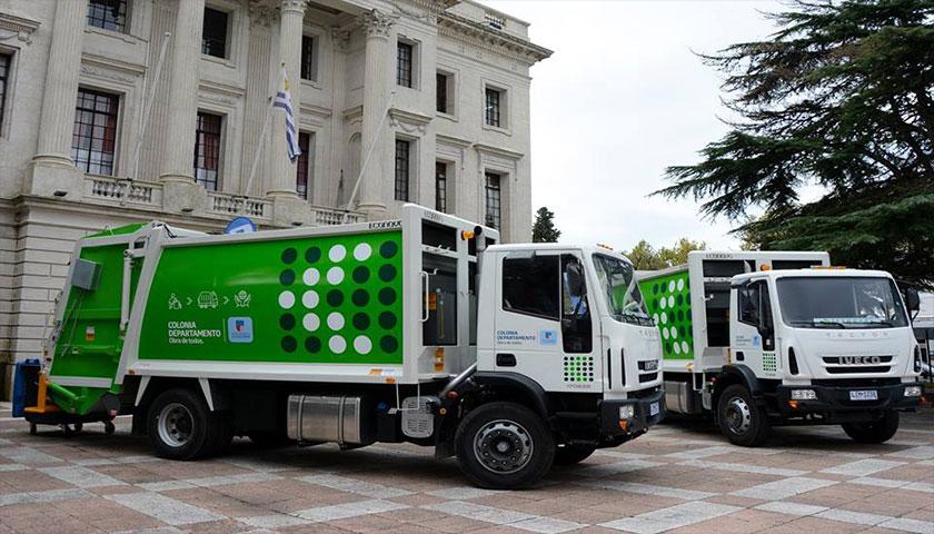Nuevos Camiones Recolectores para el Dpto de Colonia