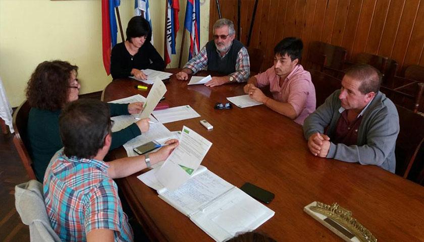 Reunión del Municipio de Cardona