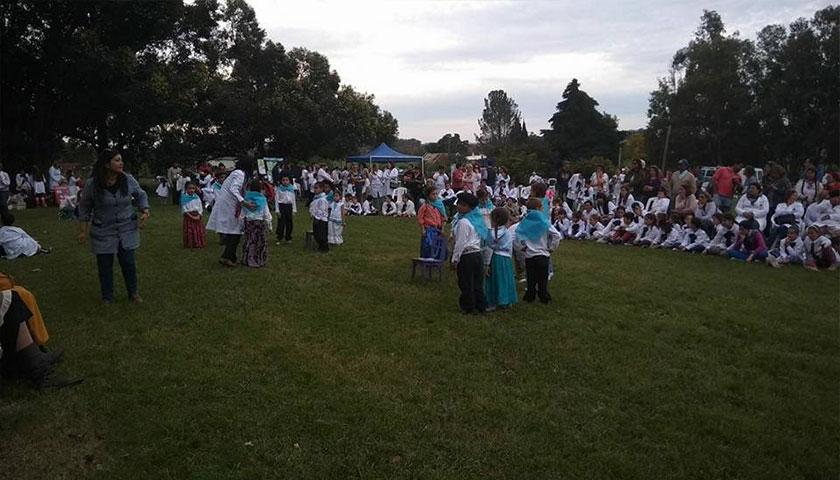 En la jornada de hoy se celebró el día de la Educación Rural a nivel de departamento de Colonia en escuela N 79 Aaron de Anchorena
