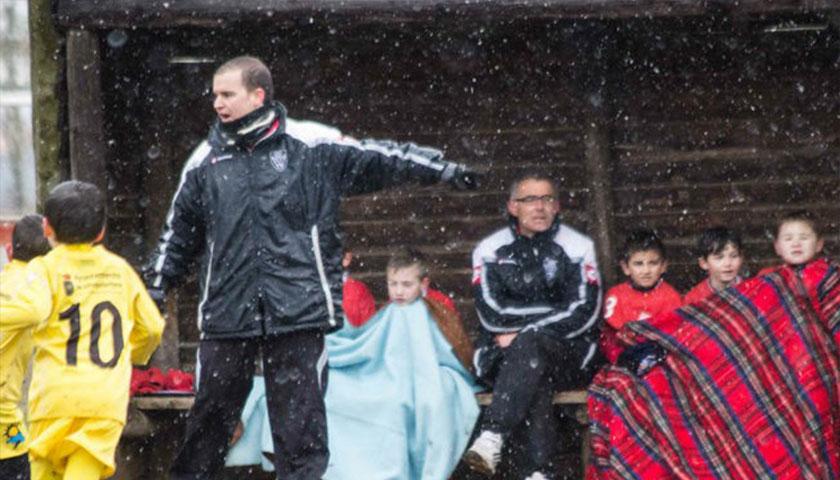 """""""Fútbol Infantil en tiempos de Frío"""""""