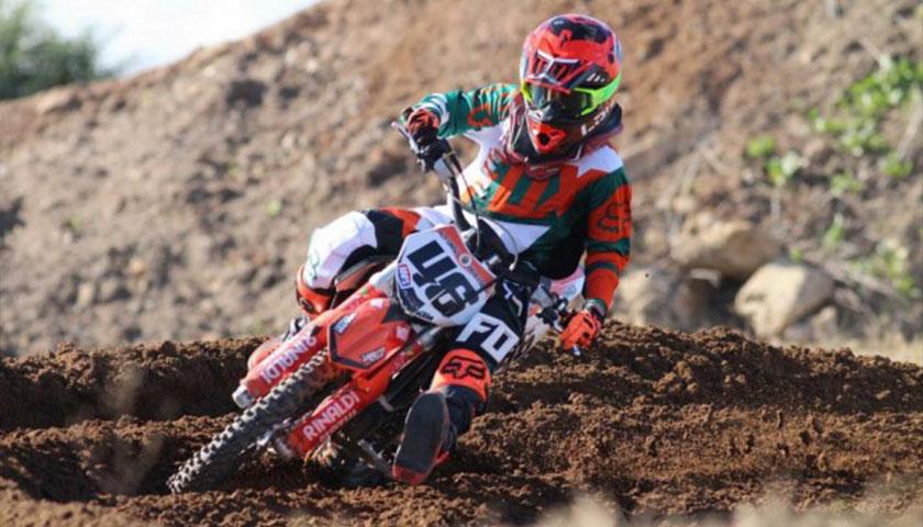 Alfonso Bratschi segundo en la 5ta fecha del Campeonato de Motocross Nacional Argentino