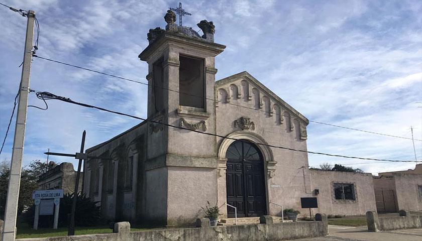 Grafitaron Iglesia Católica en Santa Catalina