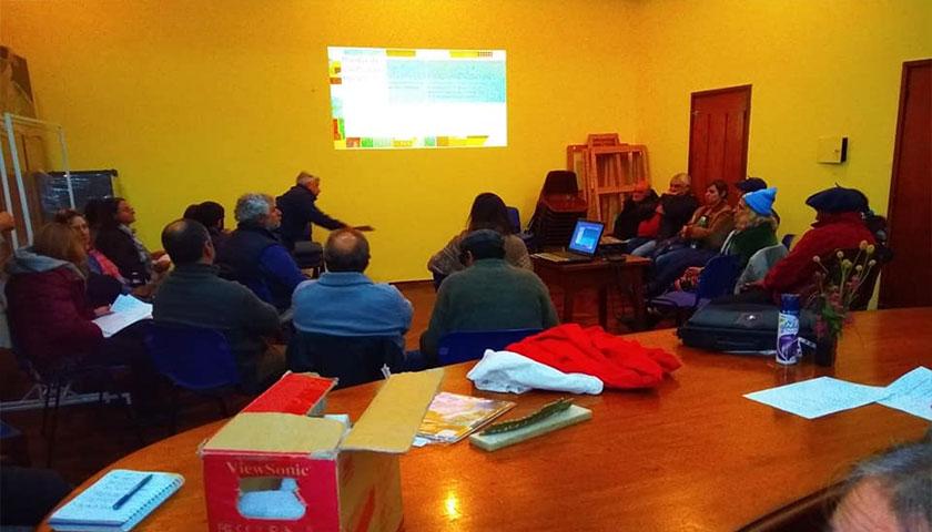 El Nodo Cultura expuso anoche la propuesta para presentarnos al llamado #PuebloTurístico del Ministerio de Turismo
