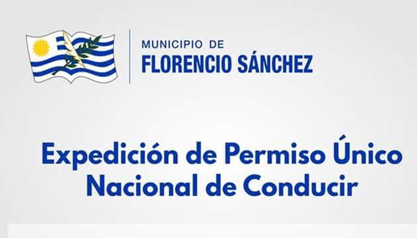EXPEDICIÓN DE PERMISO ÚNICO NACIONAL DE CONDUCIR