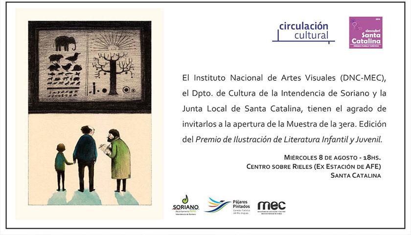 Muestra de la 3era edición del Premio de Ilustración de Literatura Infantil y Juveni