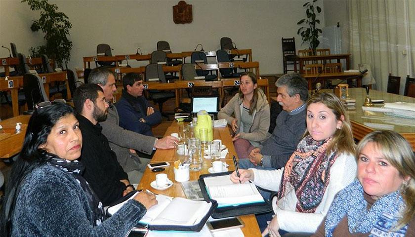 Director de turismo de Paysandú y Soriano reunidos por el Corredor de los Pajaros Pintados