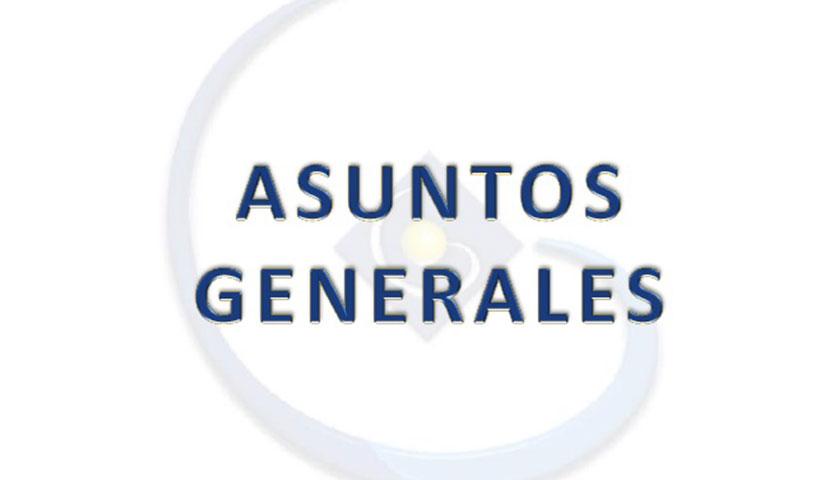 Comisión de Asuntos Generales