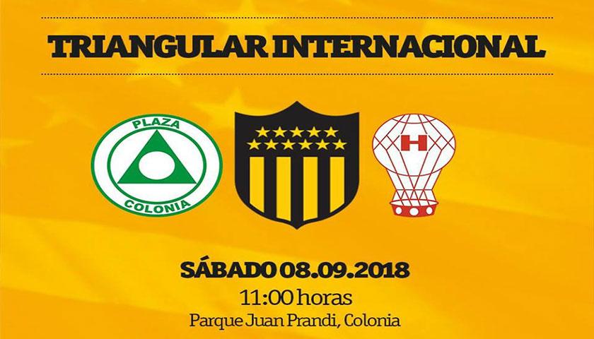 Lanzamiento del triangular internacional de Fútbol para ciegos a disputarse en Colonia del Sacramento