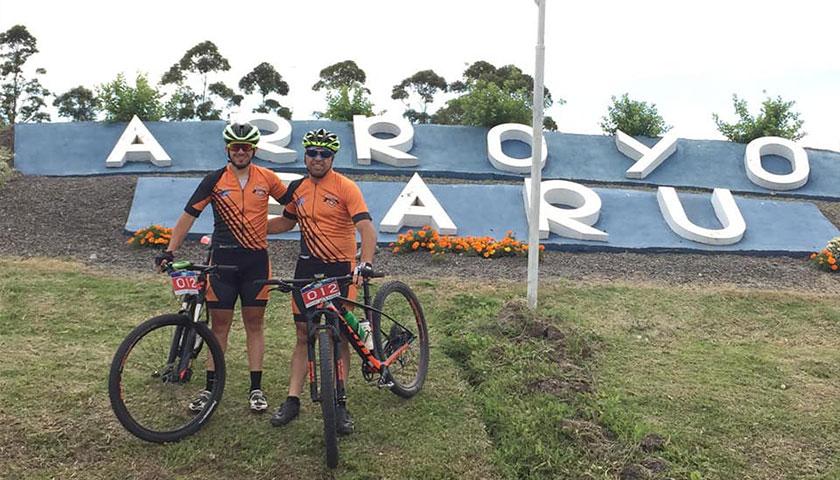 La dupla de Geremias Carballo y Matias Fernandez participaron en Argentina