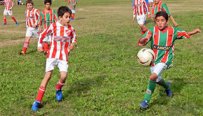 Darío y Leandro Cardozo Padre e hijo hablando del Baby Fútbol