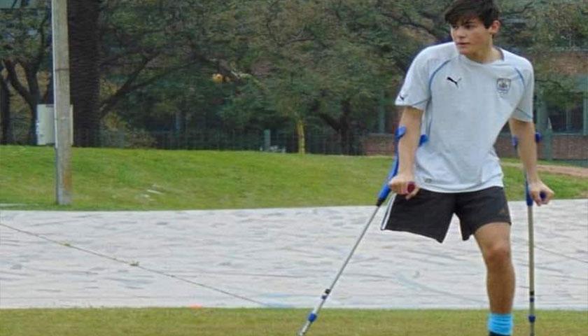 Todas las felicitaciones a Franco Medero y la Selección Fútbol Amputados de Uruguay