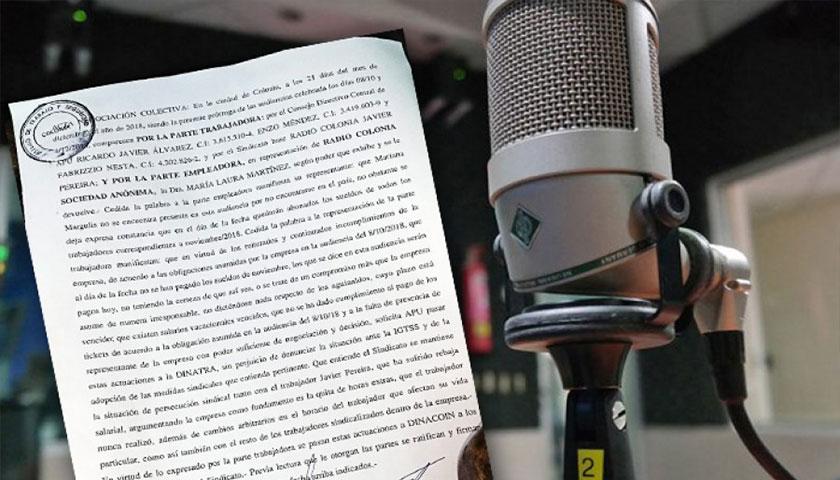 Crisis en Radio Colonia y trabajadores reclaman adeudos salariales