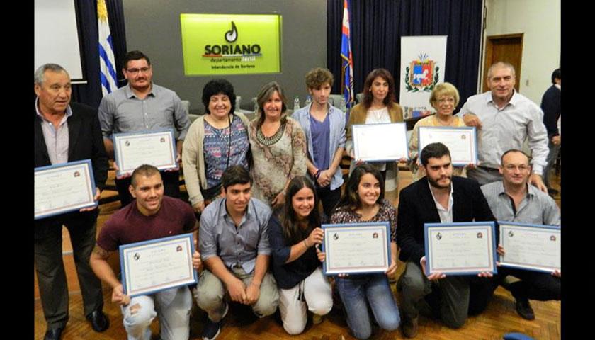 Entregaron Diplomas por la Causa de Soriano en la Junta Dptal