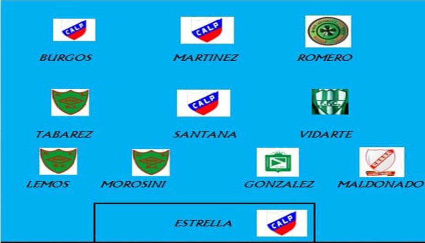 Va quedando el equipo o plantel ideal elegido por los cuerpos Técnicos de la liga del Centro 2018