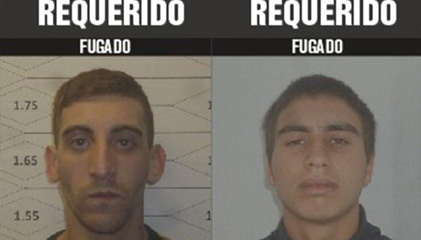 Se solicita la colaboración de la población para ubicar a dos personas que se fugaron de Santiago Vázquez