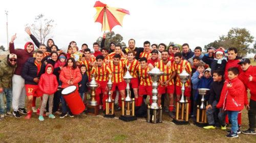 Santa Emilia es el Monarca del Fútbol de Cardona