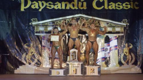 Sebastian Aldacour Duarte gano su categoria y la Clasicc Phisique en Paysandu