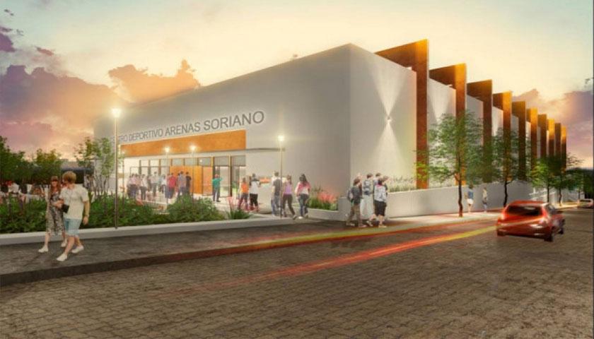 Intendente Bascou dijo que el Proyecto Arenas Soriano Será una Realidad Pese a Incrementos en Costo de Construcción