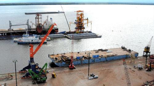 Embarques por Nueva Palmira crecieron 36 % en los primeros ocho meses