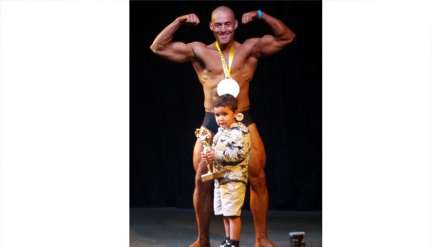Sebastián Aldacour Campeón Nacional en Fisicoculturismo