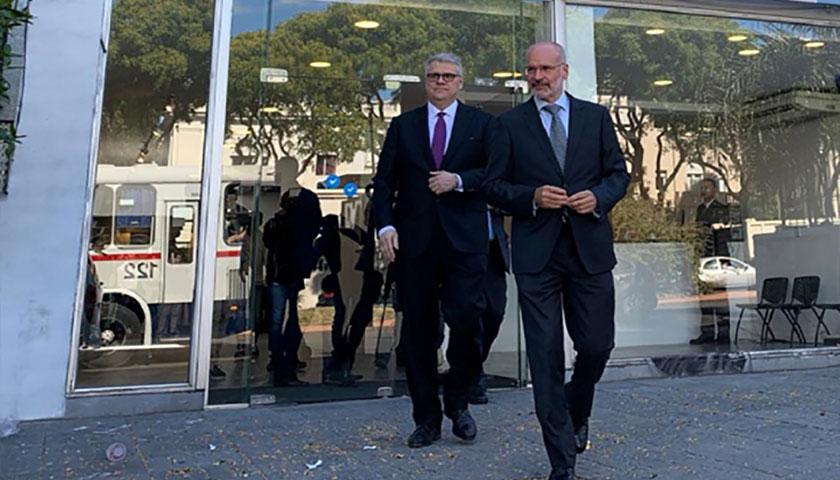 Lacalle Prometió Seguridad Jurídica a UPM y se Reunirá con Gobernador de Entre Ríos