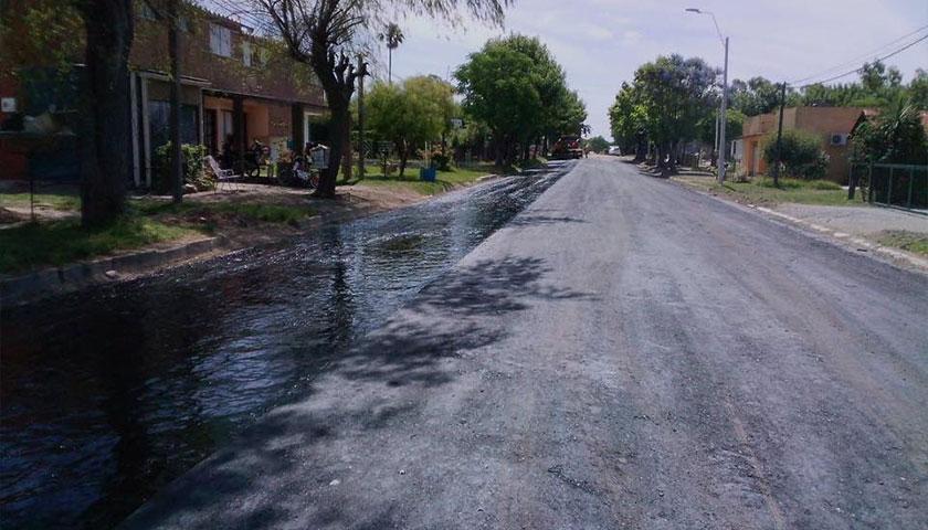 Pavimentación de Calles en José Enrique Rodó
