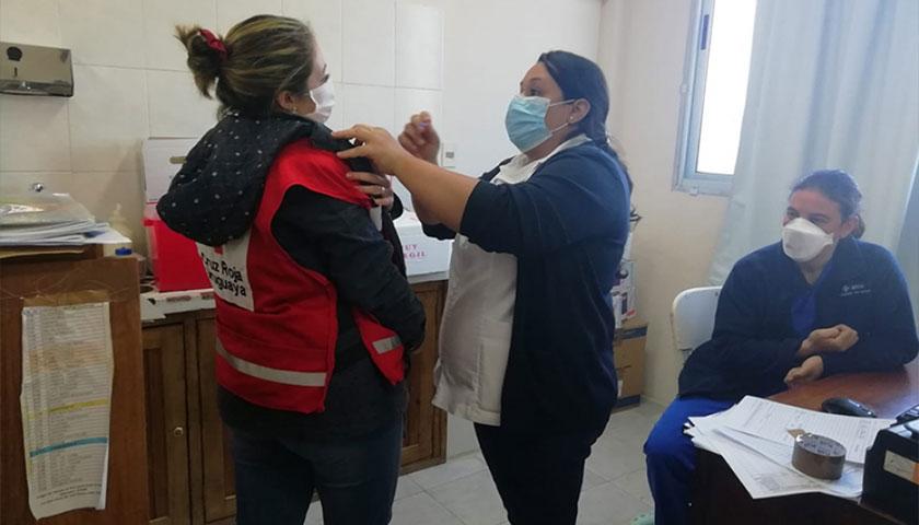 En Soriano una Cifra Récord Ya se Ha Vacunado Contra la Gripe