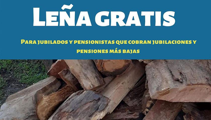 Municipio de Rodó entrega leña