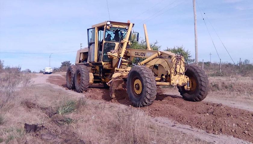 Municipio de Rodó encara diversas obras viales en zona de Lares y Perseverano