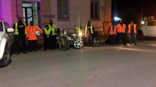 Brigada de Tránsito y policía en un nuevo operativo de control en Cardona