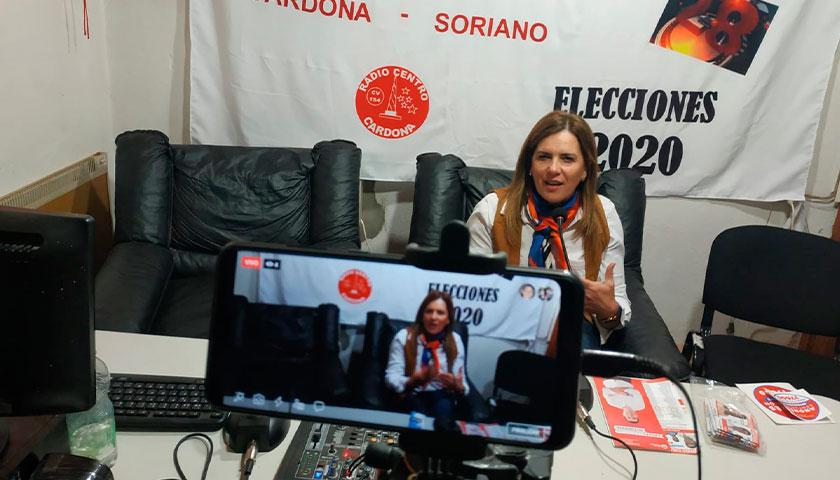 María Rosa Melazzi Camera alcaldesa por cardona 7600 B