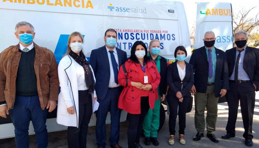 La Campaña #NOSCUIDAMOSENTRETODOS Hizo Entrega de una Ambulancia al Hospital de Dolores