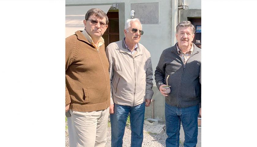 El Candidato a la Intendencia Federico Barboza Estuvo en Cardona
