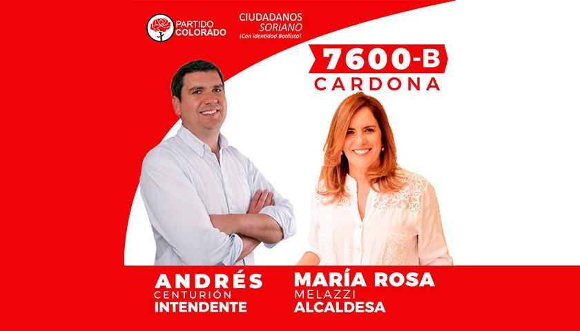 Hoy Andrés Centurión estará en Cardona