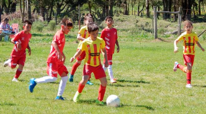 Continúa el Baby Fútbol en Liga F. Sánchez – Cardona
