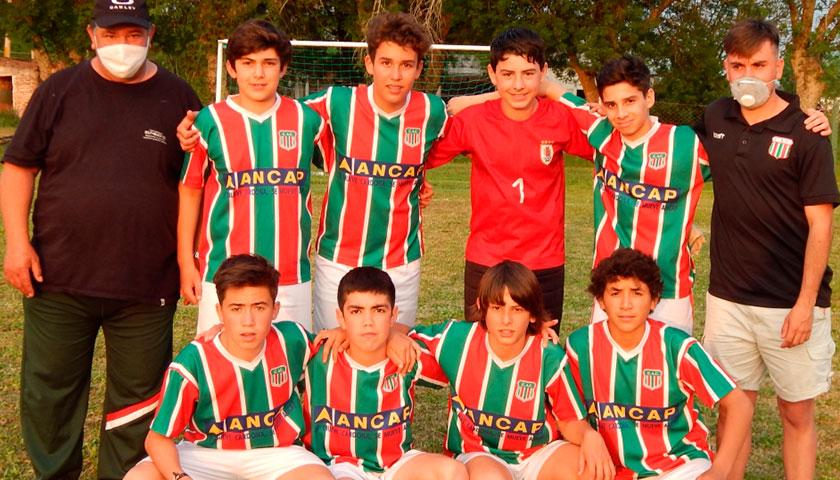 En Cardona el Fútbol Sub 16 Continúa el Próximo Domingo