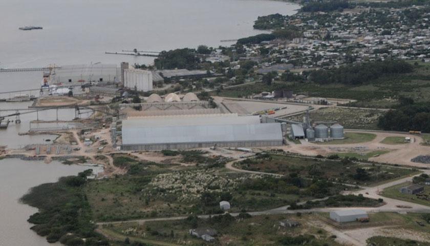 """No hay un sólo barco, pero el vicepresidente de la Caru dice que el puerto de Palmira está """"colapsado"""""""