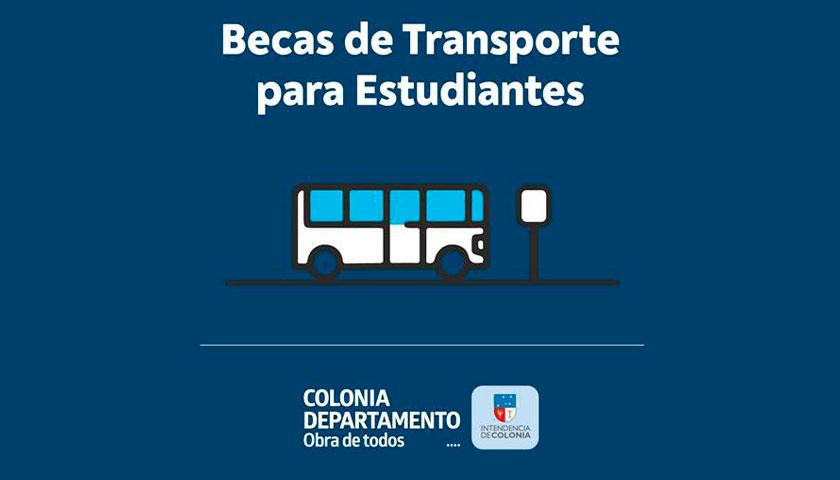 Intendencia de Colonia: Becas de Transporte para Estudiantes