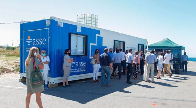 ASSE Instaló Puesto de Hisopados Gratuitos en Punta del Este