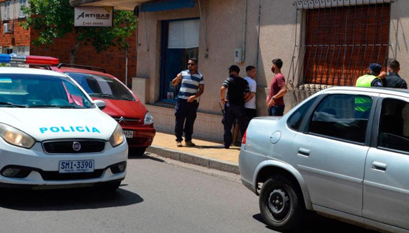 Operativo Antidrogas en Pleno Centro de Mercedes