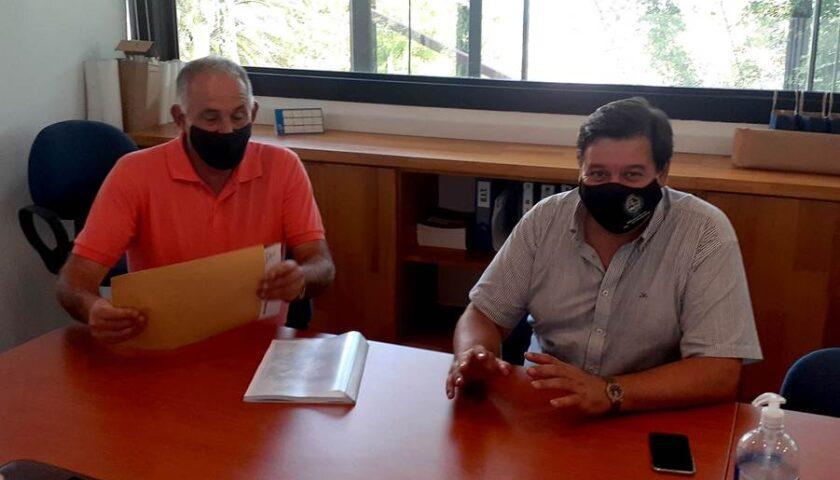 El Ministro de Ambiente se reunió con Director de Turismo de la Intendencia de Colonia