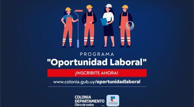"""Hoy comenzó inscripción para el Programa """"Oportunidad Laboral"""""""