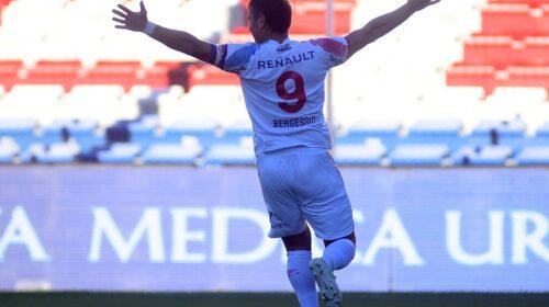 Apertura: Nacional, con un triplete de Gonzalo Bergessio, superó 3-1 a Fénix en el GPC