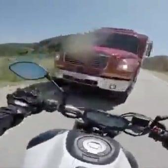 Motociclista falleció embestido por un camión en Ruta Nacional 5