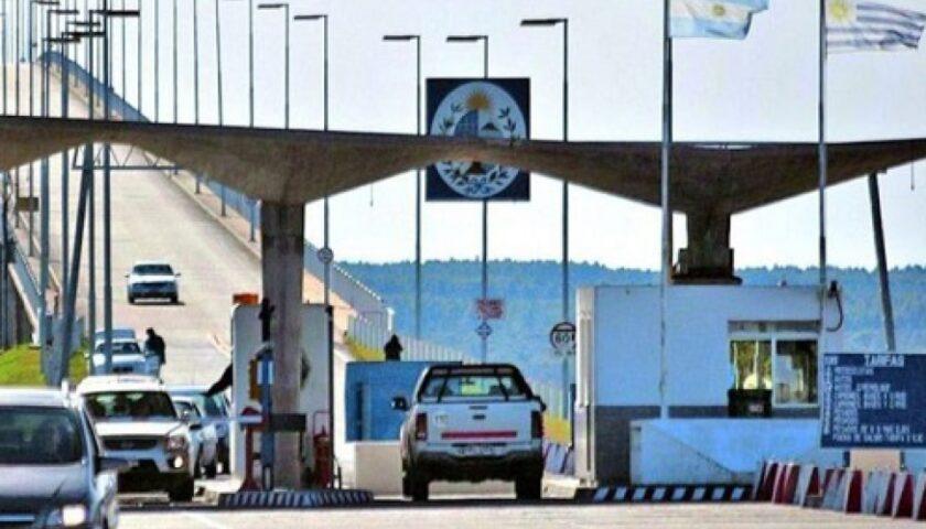 Incautaron Contrabando de Celulares en el Puente San Martín
